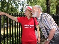 Brisbane Greeters play host to Ludwig Leichhardt on historic visit