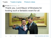 Brisbane Global Cafe a huge hit online
